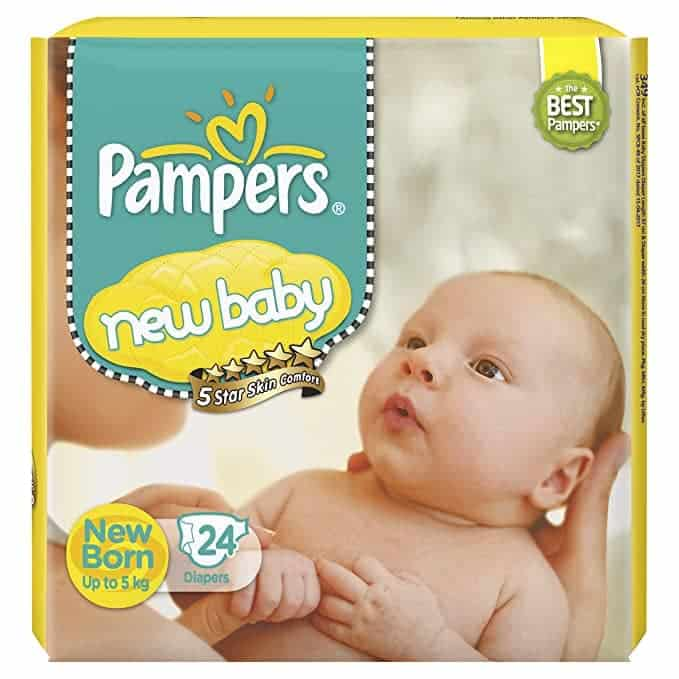 Pampers baby products brand in India