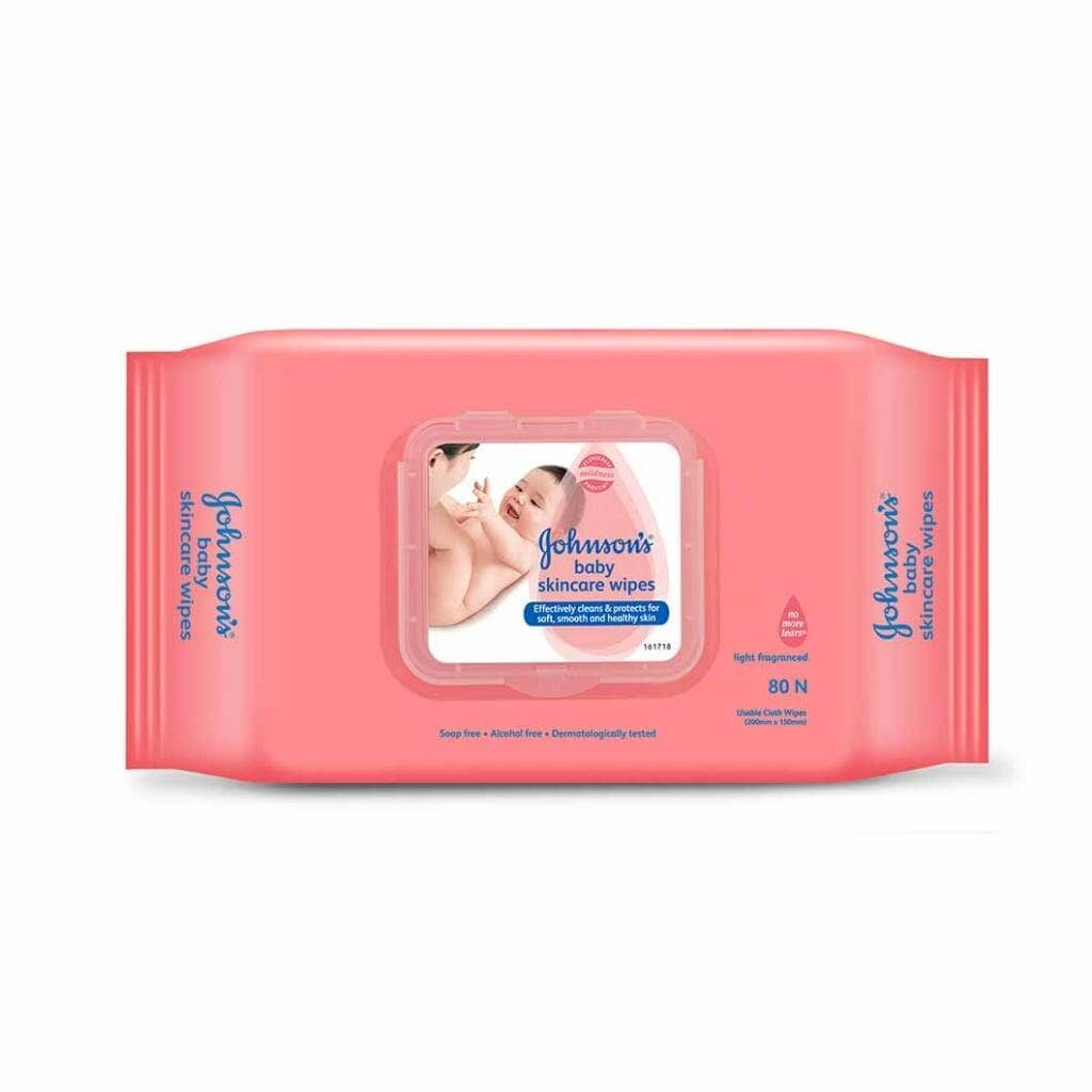 Johnson's Baby product brands in India - Baby Skincare Wipes