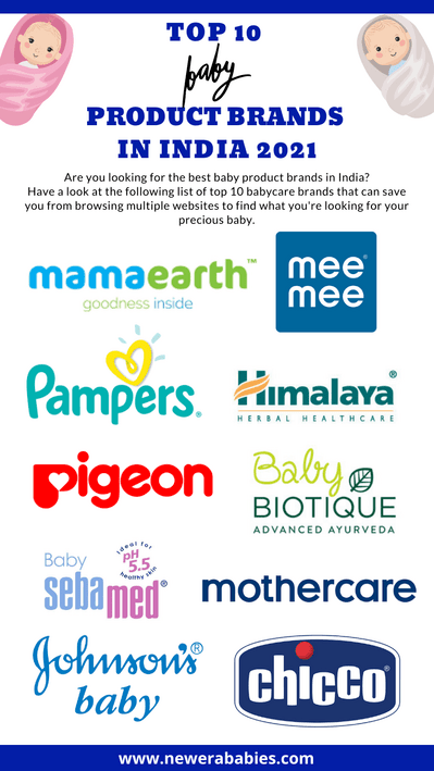 Top 10 Baby Product Brands in India 2021